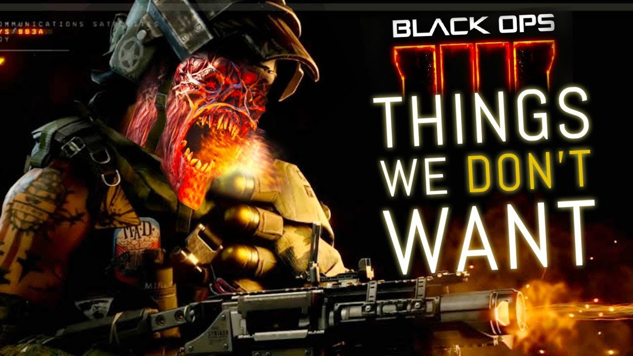 Black Ops 4: 5 Things We DON'T WANT