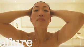 Korean Pop Star and Actress Jihae's All-Natural Beauty | Power of Beauty | Allure