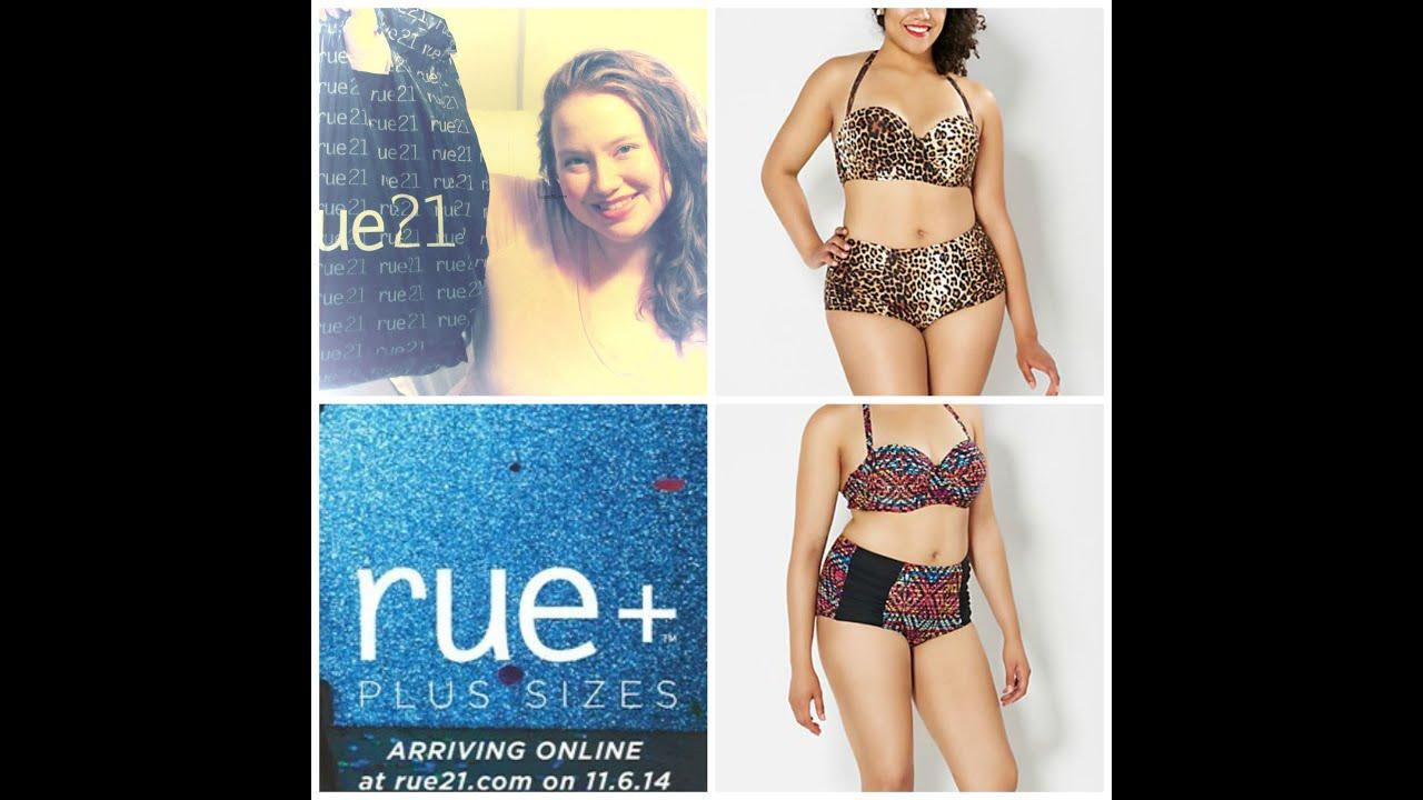 87425eb75fcb9 Rue21 + PLUS SIZE Swimwear Haul HURRY ONLY $3.00 IN STORE & ONLINE ...