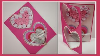 DIY Valentine cards handmade for Boyfriend/Love card making/Handmade gift ideas for Valentine's day