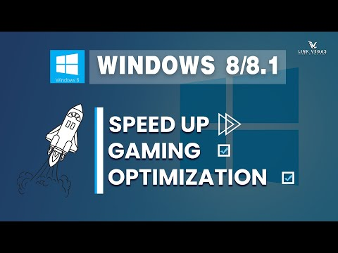 Windows 8/ 8.1 Gaming Optimization (speed Up Your System) 2019