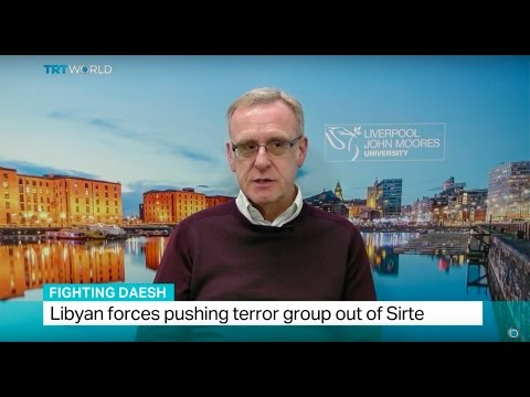 Fighting Daesh: Interview with terrorism expert David Lowe from John Moores University