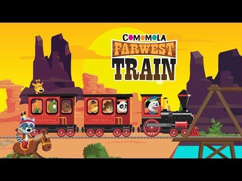 Comomola Far West Train - Railroad game for kids