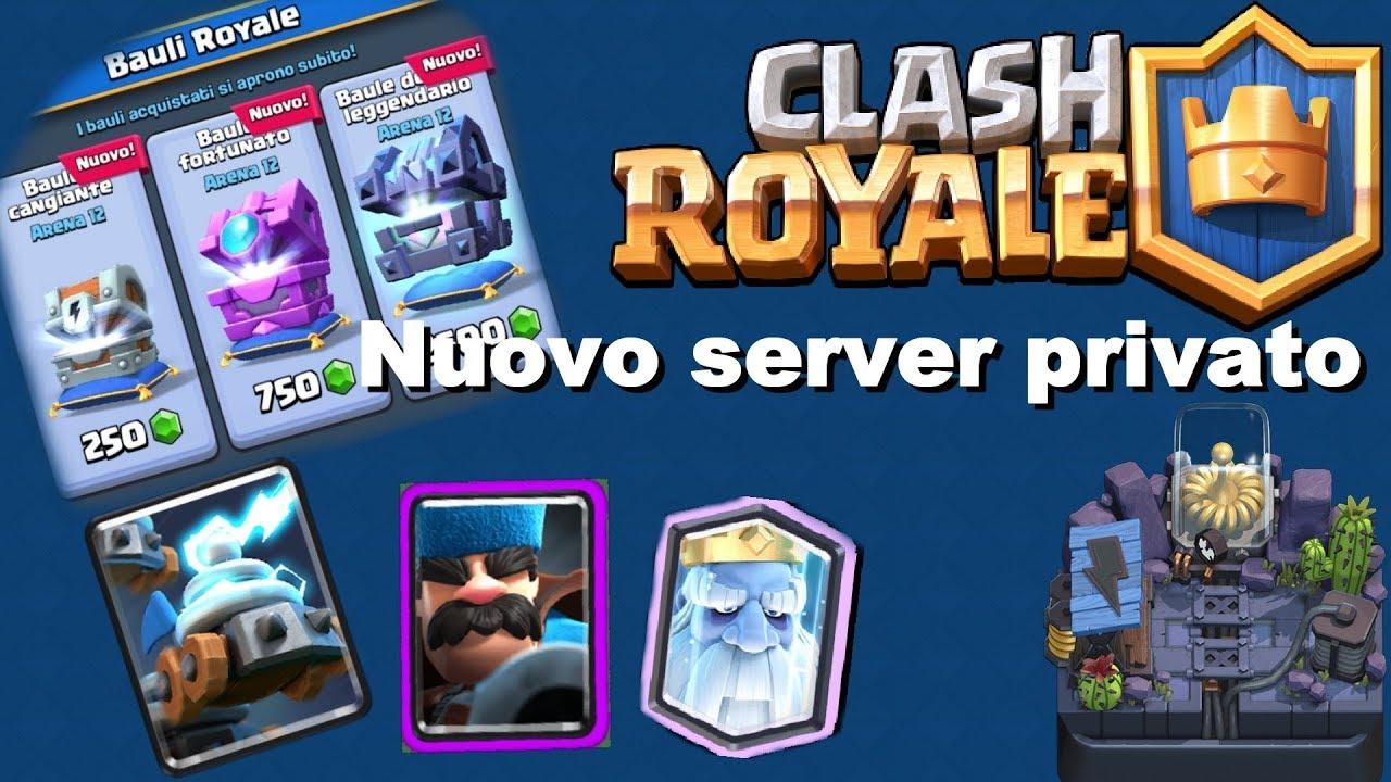 clash royale server privato