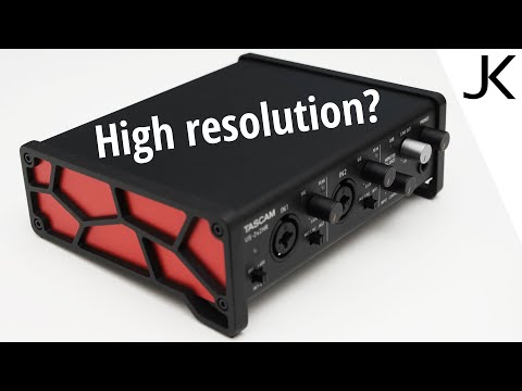Tascam US2x2HR USB Audio Interface Review (audio quality test)