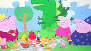 Peppa Pig СВИНКА ПЕППА Большой пазл Пикник 'Большой пикник'