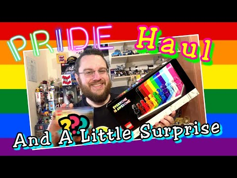 Pride Month Haul with a Little Surprise (Everyone Is Awesome, Brickheadz, Speed Champions and ???)
