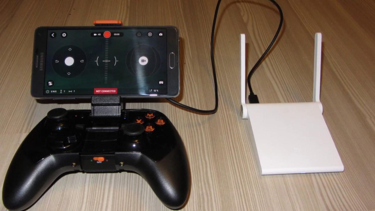 (Range Test 1) SkyController 2 VS Xiaomi Router Nano (Bebop 2)
