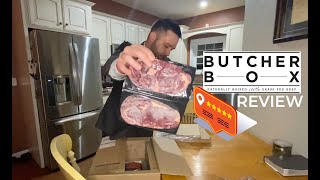 Butcher Box Unboxing, Review and First Cook of Filet Mignon #ReviewsByTyler
