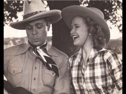 Priscilla Lane & Dick Powell Sing Ride Tenderfoot Ride From Cowboy from Brooklyn