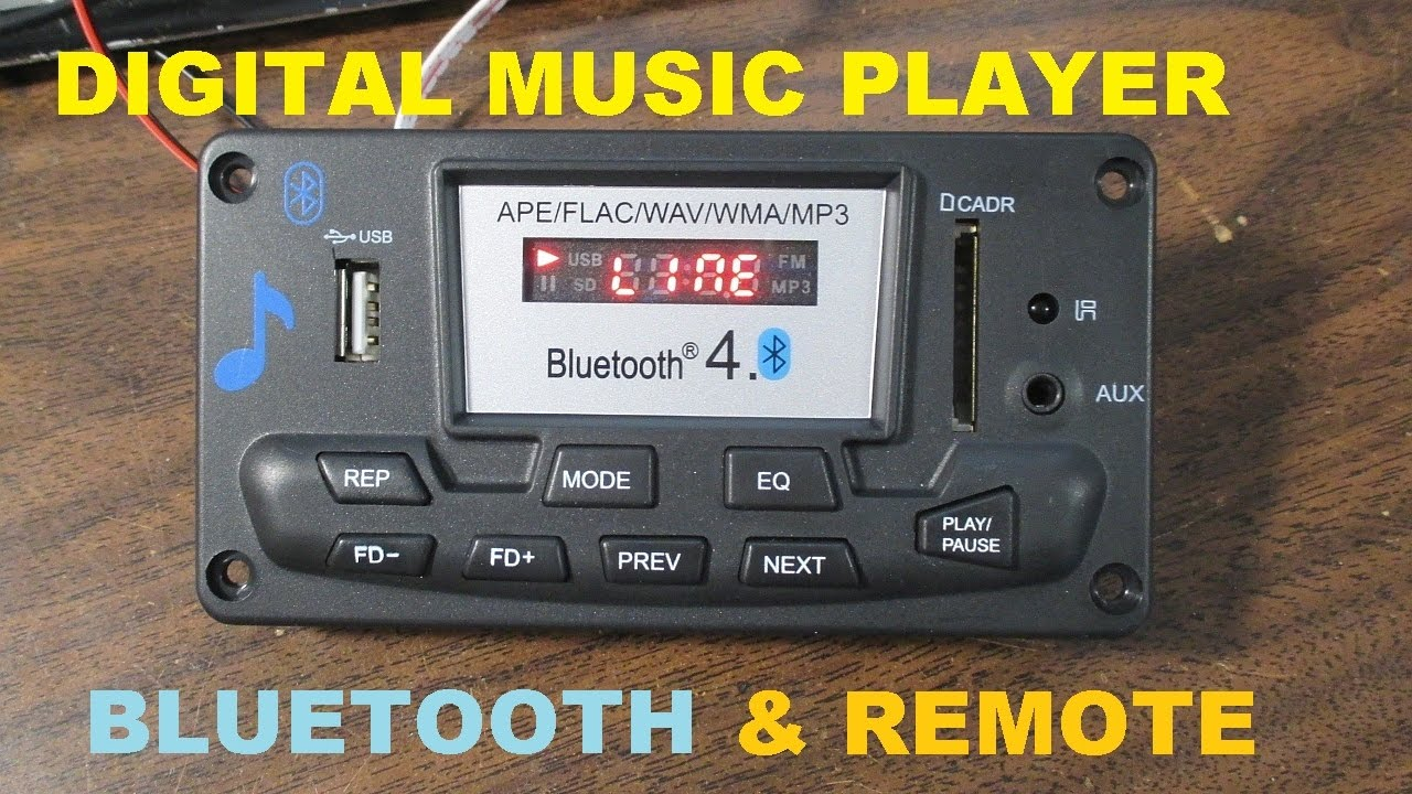 Digital Music Player With Bluetooth Fm Radio Test And Review