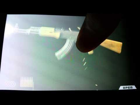 AK-47 VS M16 semi auto and full auto iGun Pro