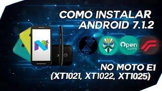 Moto E: Como Instalar Android 7.1.2/ResurrectionRemix + TWRP + TV Digital - [Atualizado 2017 - PtBr]