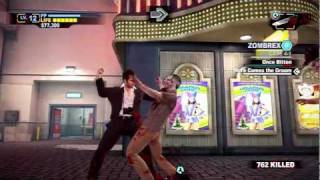 Dead Rising 2: Off the Record - Giant Pink Chainsaw Psychopath - Walkthrough Part 16 (Gameplay)