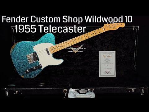 Fender Custom Shop Wildwood 10 1955 Telecaster  •  Wildwood Guitars
