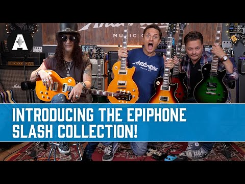 Introducing the AllNew Epiphone Slash Collection!