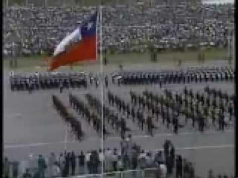 Marcha SALUDOS AL REGIMIENTO FACH,der Regimentsgruß marsch