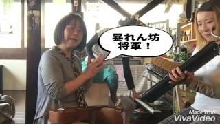 今日はかばちゃんと一緒に!(≧∀≦)ノ ドラムサークルの加藤さんがプレゼン...