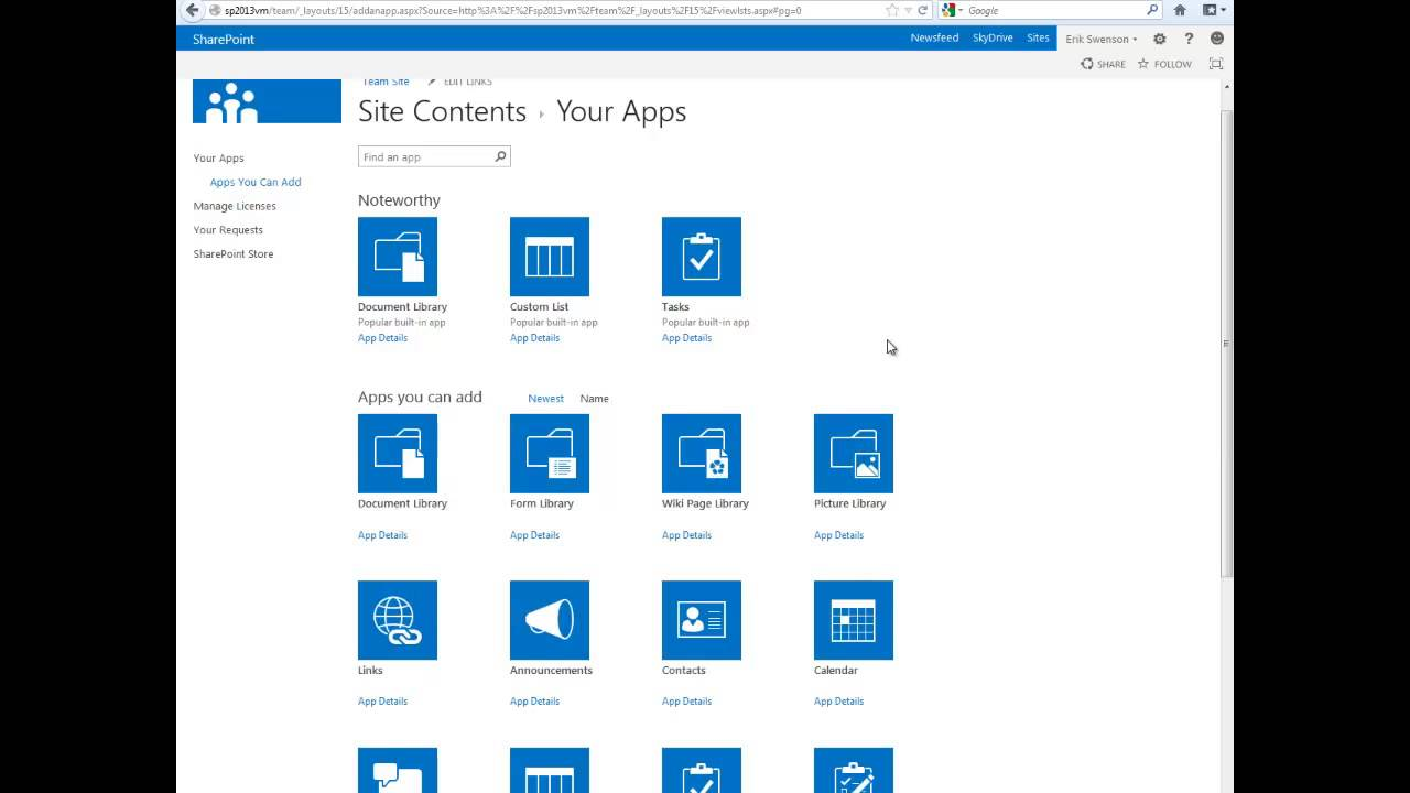 SharePoint - what is this program Overview 4