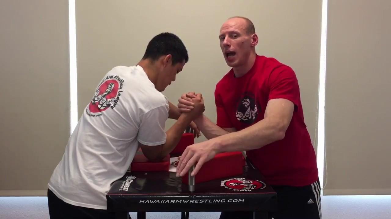 Arm wrestling technique. Arm wrestling tactics 100