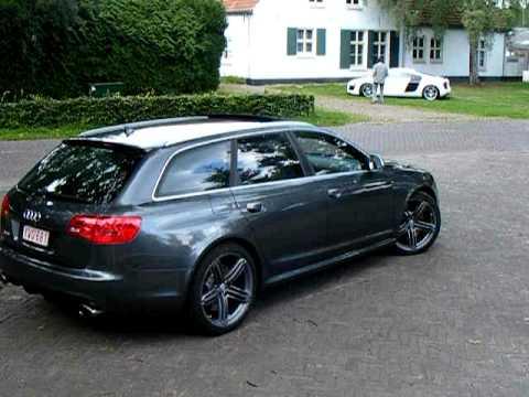 Audi Rs6 Avant Vs Audi R8 Revving Youtube