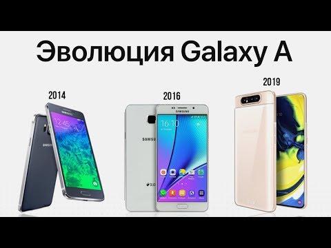 Эволюция Galaxy A