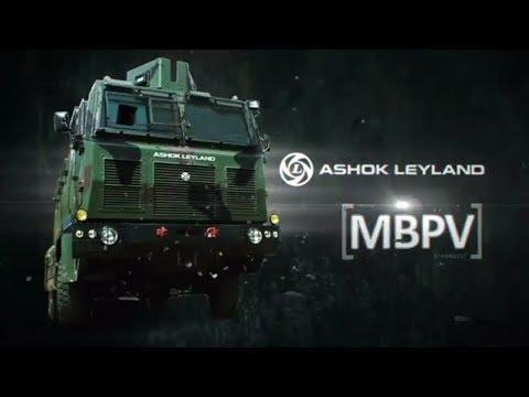 Ashok Leyland's Medium Bullet Proof Vehicle (MBPV)
