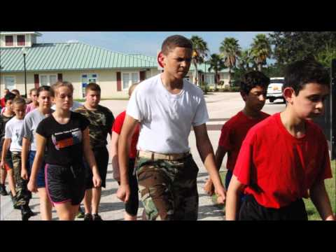 October 1, 2015 Drill Imagine School at North Port, Young Marines