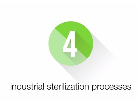 Industrial sterilization processes for medical devices