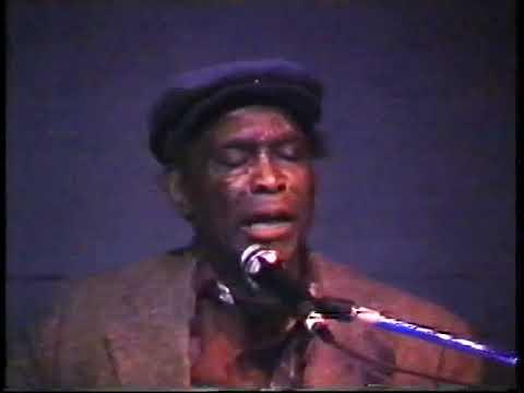 David Honeyboy Edwards 23 Novembre 1992 live concert @Spaziomusica Pavia