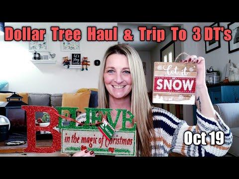 Dollar Tree Haul *PLUS * Trip To 3 Dollar Trees/ All New