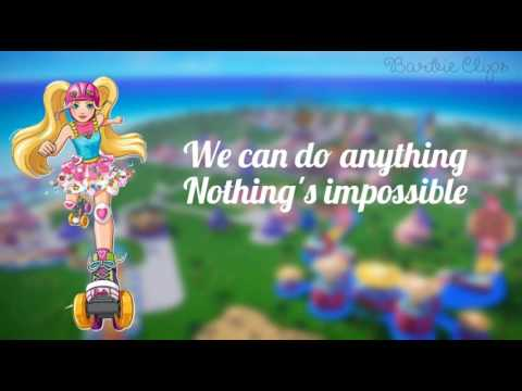 Barbie in a Videogame Hero - Get Up and Move - Lyrics