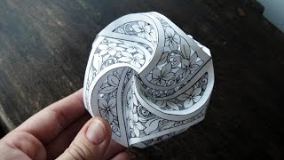 Hattifant - Triskele Paper Globes to PAPERCUT