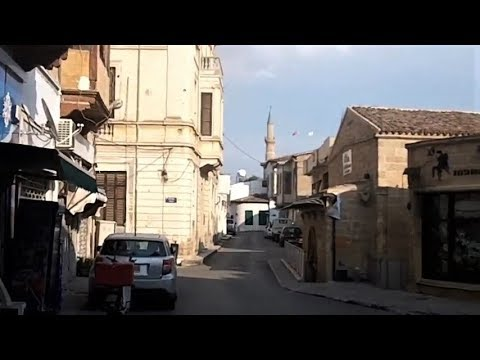 Walking in the north part of Nicosia, Cyprus (Oct 7, 2018)