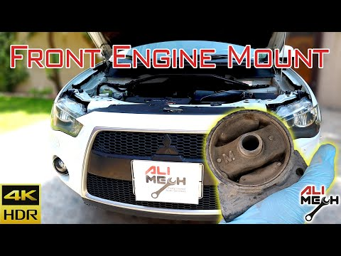 How to replace Engine mount on Mitsubishi Outlander/Lancer/ Whats bad engine mount symptoms ALIMECH