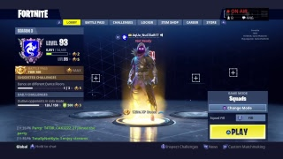 "Les nouveaux backbling GRATUIT et ""Rock Out""Gameplay//Fortnite Servers are Finally Up!!! Route de 550 Subs!!!"