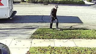 Angry FedEx Driver Throws Scanner and Dolly After Delivering Wrong Packages