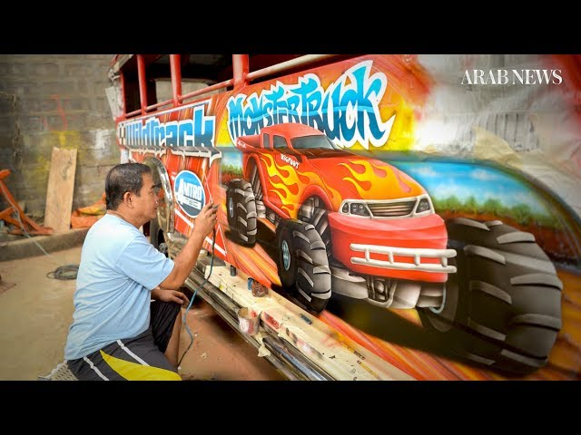 Philippine 'jeepney' artists stalked by extinction