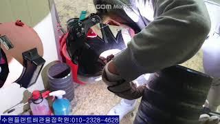 수원플랜트배관용접학원 김치영 30세 카본 배관 알곤용접…