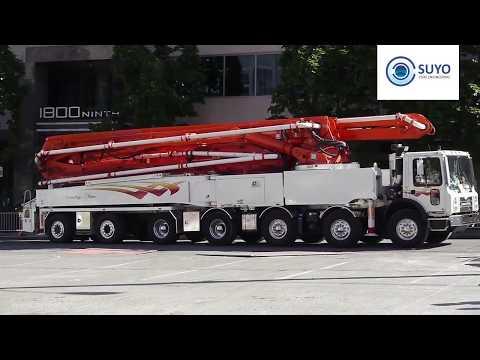 Suyo Pure Engineering   Concrete Boom Pump