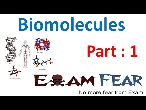 Biology Biomolecules Plants part 1 (Introduction) CBSE class