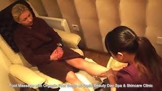 Foot Massage with Organic Foot Scrub at Oasis Beauty Day Spa & Skincare Clinic