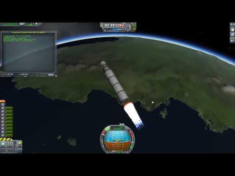 KOS KSP Propulsive Landing