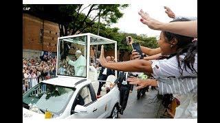 Tổng Thống và người dân Colombia tiễn chân Đức Thánh Cha, 10.09.2017