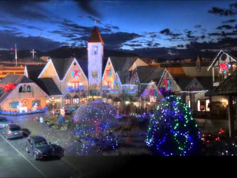 Incredible Christmas Place & Inn at Christmas Place Winterfest 2015-16 Lights