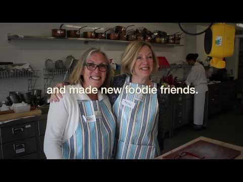 Inspiring cookery classes at Leiths