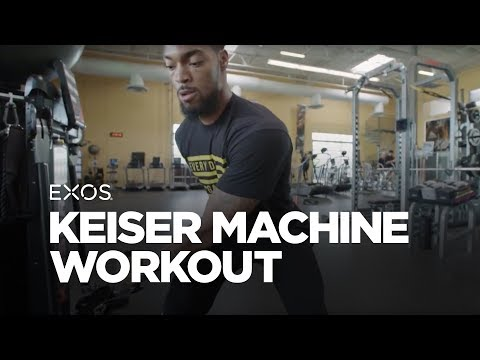 Keiser Machine Workout | EXOS