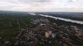 Drohnenflug über Geisenheim