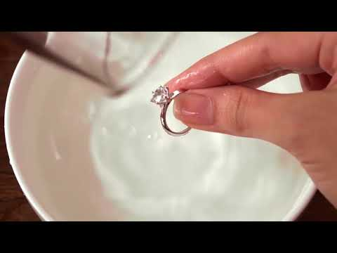 How To Clean Your Engagement Ring in 3 Easy Steps