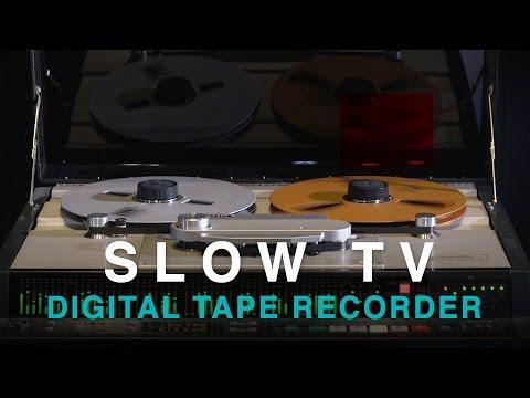 SLOW TV - Sony 3348 DASH Digital Tape Recorder